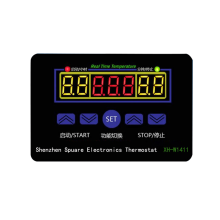 W1411 Temperature Controller Multifunctional Three Display Digital Temperature Controller Temperature Controller Switch цены