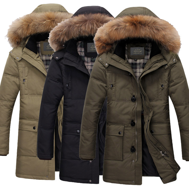 Mens Down Feather Jacket | Outdoor Jacket