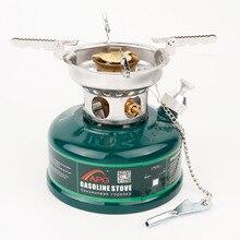 Открытый бензиновая плита масляные горелки портативный приготовления бензиновая плита Туристическое оборудование