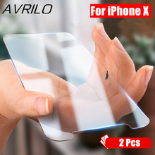 2 Pcs 9H Premium Tempered Glass For iPhone 6s 6 7Plus 5 5S 4 4S 8 Screen Protector Hard Cover Glass For iPhone X Protective Film стоимость
