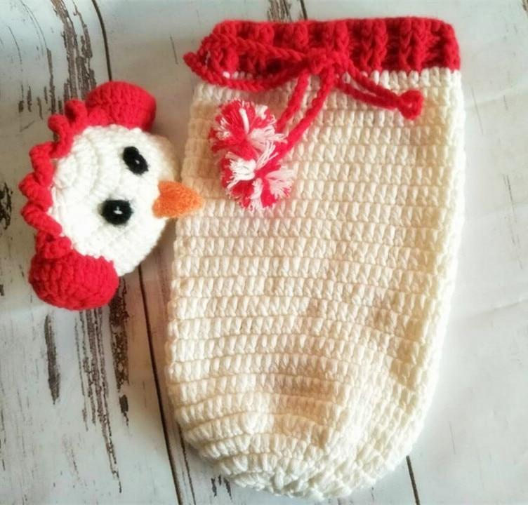 Aliexpress.com: Comprar Bebé saco de dormir knit newborn capullo ...