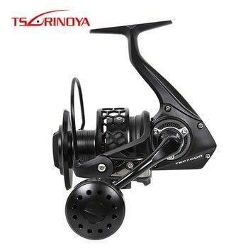 Tsurinoya 7000 Size Spinning Fishing Reel 7+1BB 500g 4.9:1/20kg Steering Wheel Lure Reels Carretel De Arremesso Moulinet Peche