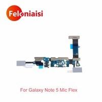 Wysokiej Jakości Dla Samsung Galaxy Note 5 N920F N920C Słuchawkowe Jack Audio Dock Charger USB Port Ładowania Taśma