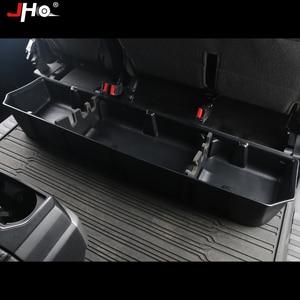 Image 2 - JHO organizador de almacenamiento de 4 puertas, caja de almacenamiento interior de parte trasera para Ford F150 Raptor 2017