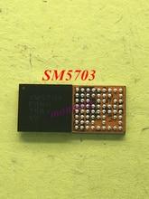 10 pçs/lote SM5703 SM5703A IC para A8 A8000 J500F carregamento de carregamento USB carregador IC