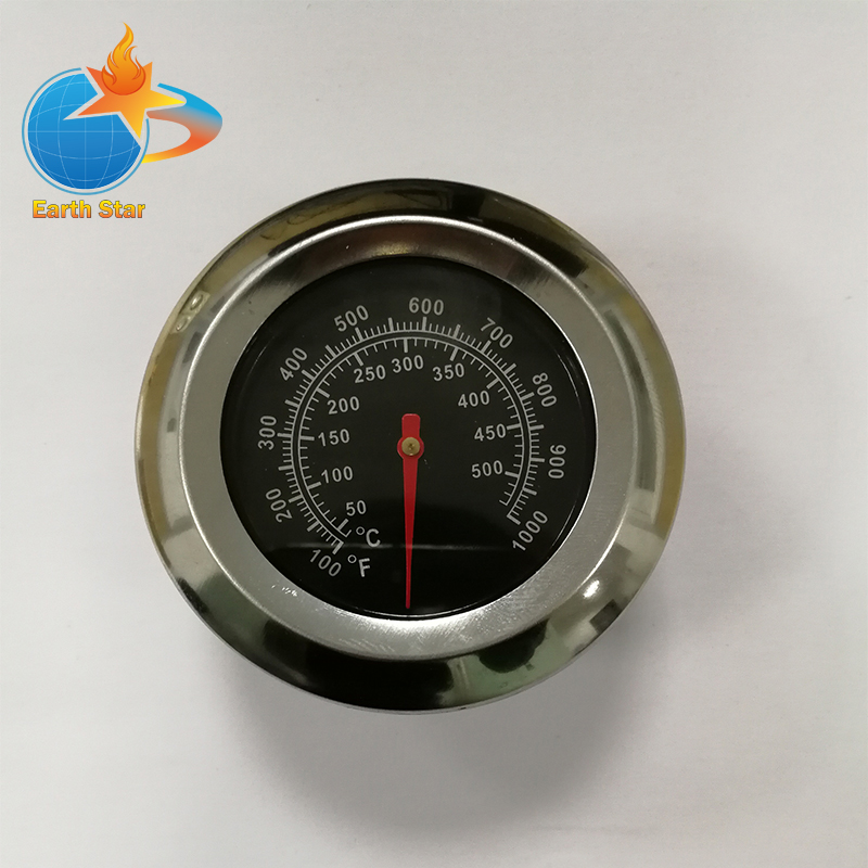 Earth Star High Quality 50~500 Degree Roast Barbecue BBQ Smoker Grill Thermometer Temp Gauge New Arrival-2 earth star high quality 50 500 degree roast barbecue bbq smoker grill thermometer temp gauge new arrival 2