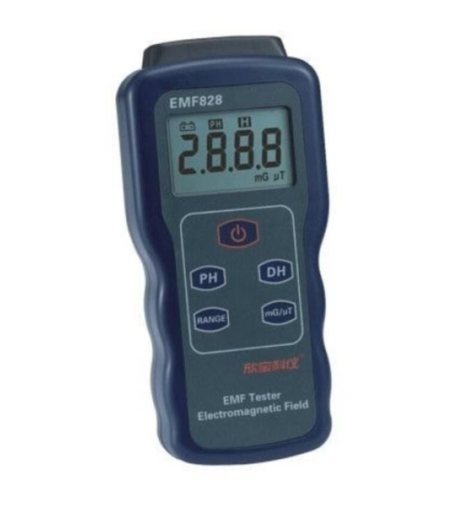 Professional Field Intensity Indictor of Low Frequency EMF Meter Price EMF828 0.1-400mG 1-4000mG Electromagnetic Field Tester