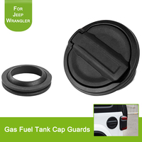Car Styling for Jeep Wrangler JL 2018 Fuel Tank Cap Door Gas Tank Doors Cover With Rubber Gasket Ring Cover Exterior Accessories
