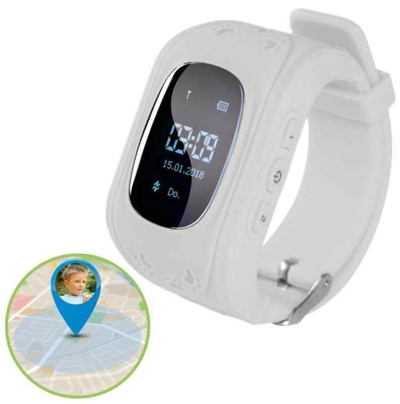 Children Kids Boys Girls Anti-Lost Smart Watch GPS Locating Tracker SOS Call Wristwatch