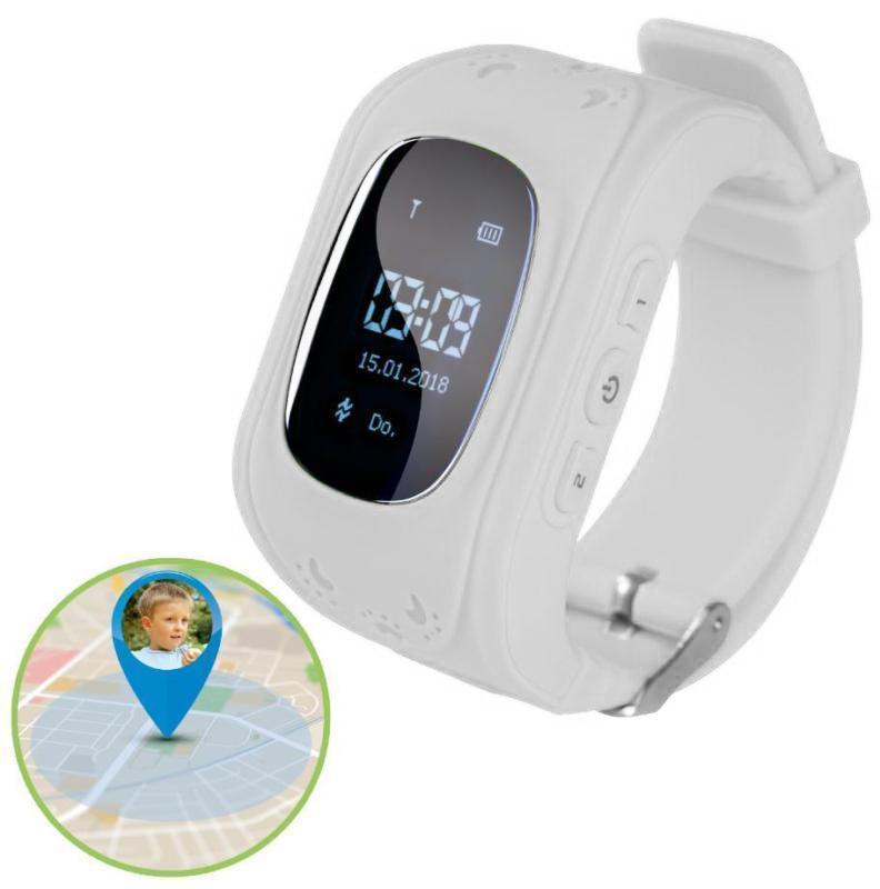 Children Kids Boys Girls Anti-Lost Smart Watch GPS Locating Tracker SOS Call Wristwatch