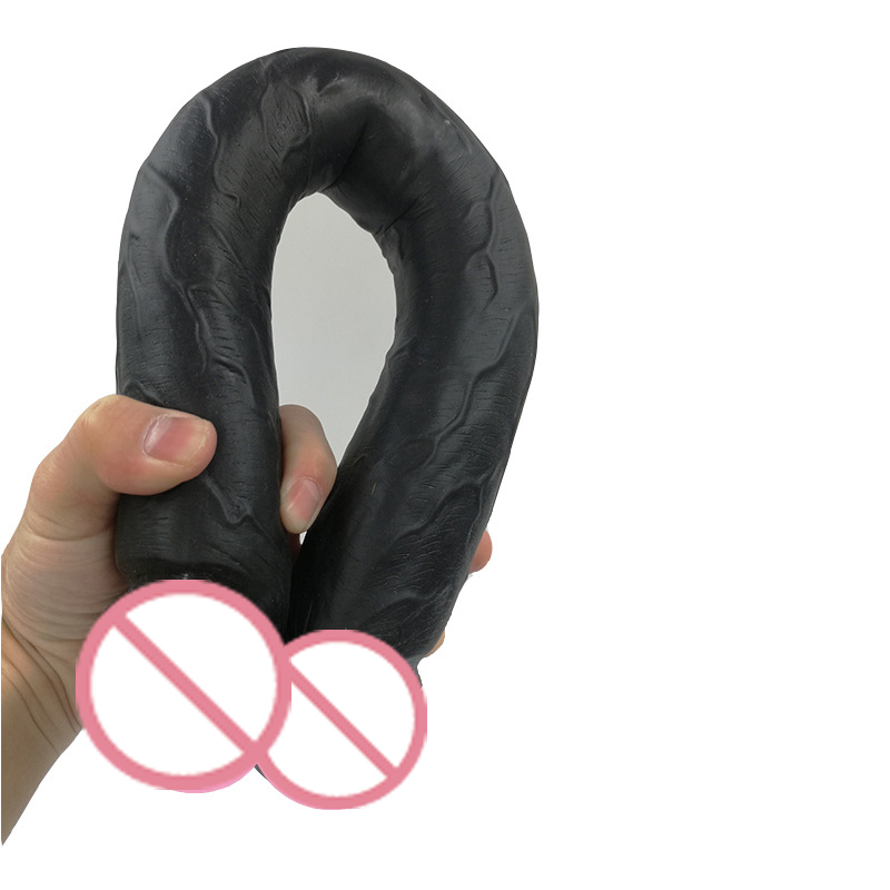 Double-headed Artificial Big Dildos Extra Long Flexible Double Ended Dildo Penetration Massage Sex Toy for Lesbian Women Gay. super long double ended dildo silicone realistic penis lesbian sex toys for woman men gay double penetration big black dildos