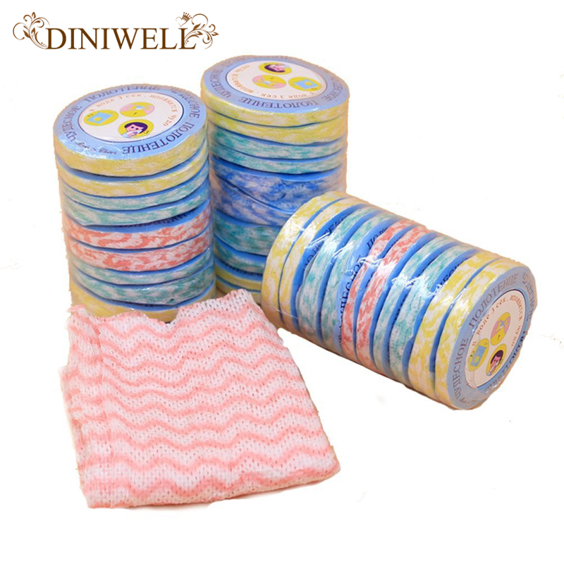 Diniwell 10pcs Travel Camping Portable Magic Disposable Compressed Bath Face Hand Towel