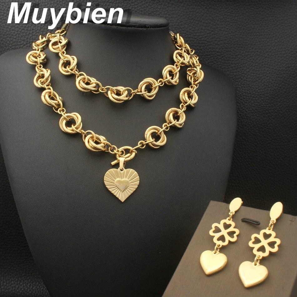 3e01187c9683 Venta al por mayor más nuevo corazón de acero inoxidable joyería de ...