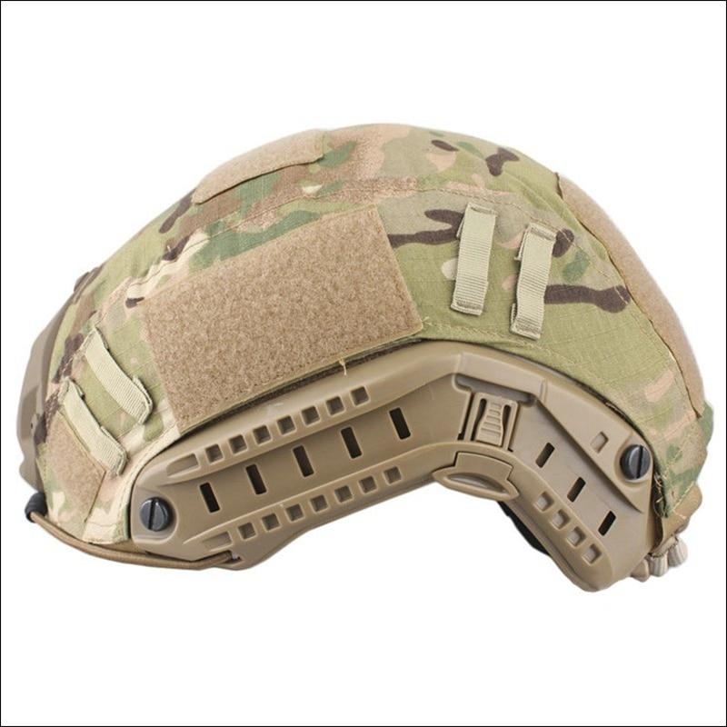 Camuflaje militar Fast BJ PJ Cascos Marpat Cubierta de tela Tactical - Ropa deportiva y accesorios
