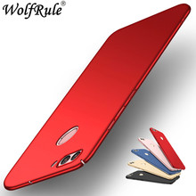 For Cover Huawei Nova 2 Plus Case WolfRule Smooth Ultra-thin