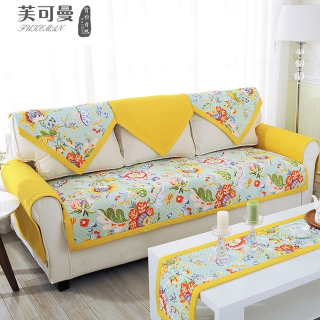 Korean four seasons mon sofa pad Stretch cover on the corner