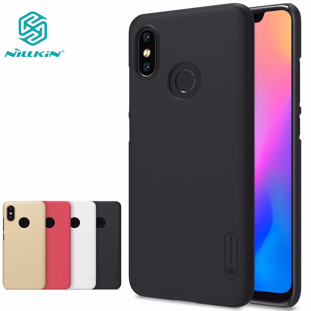 Case For xiaomi mi8 mi 8 cover NILLKIN Super Frosted Shield փայլատ պաստառ ծածկով xiaomi mi8 mi 8 SE S MI6