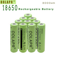 4/lot High Capacity 3000mah 18650 Battery 3.7V Rechargeable Li-ion Battery for Led Flashlight Toys Cameras Wholesale все цены