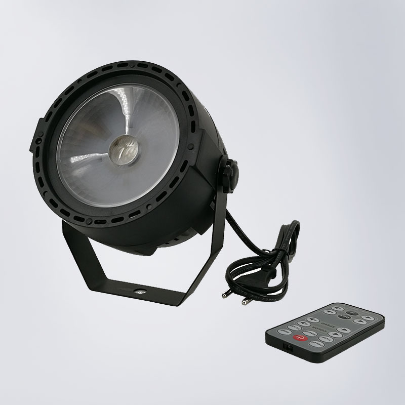 Wireless Remote Control LED Par COB 30W Lighting DMX Led High Power Light with Professional for Party KTV Disco DJ