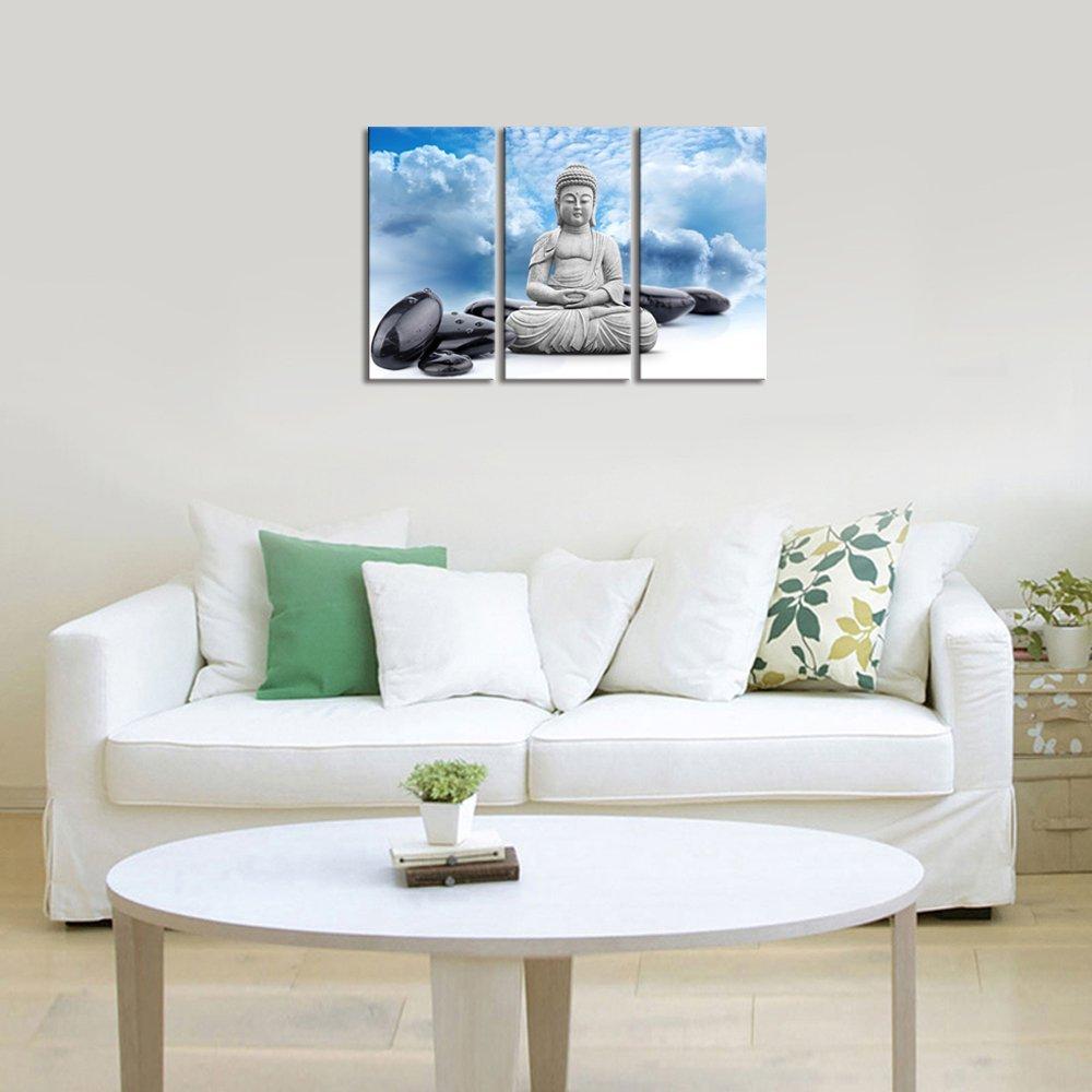 Buddha Leinwand wand kunst dekor Halten Inneren Frieden Buddha Und ...