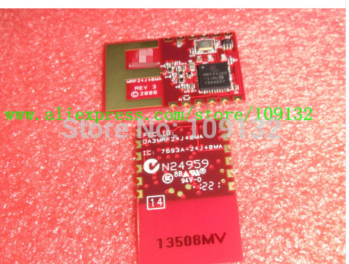 US $11 2 |MRF24J40MA I/RM MRF24J40 MRF24J40MA 2 4GHz IEEE 802 15 4 Rf  transceiver module MICROCHIP New and original-in Integrated Circuits from