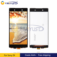 100 Tested For Sony Z4 E6533 E6553 Lcd Display Touch Screen Digitizer Assembly Black Replacement