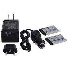 2Pcs 1200mAh NP-FT1 Digital camera Battery With Charger For Sony DSC-L1/L1 Sequence DSC-L1/B DSC-L1/L DSC-L1/LJ DSC-L1/R DSC-L1/S