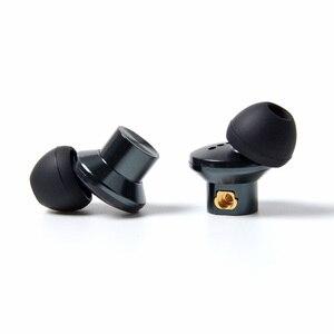 Image 4 - NICEHCK EP35 In Ohr Kopfhörer Einzigen Dynamische Stick HIFI Metall Hohe Auflösung Monitor Headset Abnehmbare MMCX Kabel Versus E700M