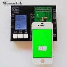 100% de Garantía Original 2016 NUEVA versión 7 in1 LCD Digitalizador de Pantalla Táctil Testing Tester para el iphone 4 4S 55 S 5C 6 plus 6 juego completo