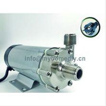 Магнитный приводной насос 15R с головкой из нержавеющей стали, доморощенный, с европейской вилкой 250 В