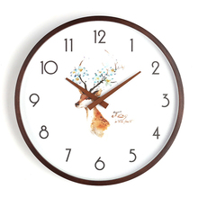 Vintage Style Antique Wall Clock Modern Design Digital Silence Large Watch Home Decor Farmhouse Nordic 3