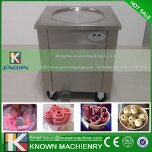 The KN-1A fried ice cream roll machine with R404A / R410A Refrigerant