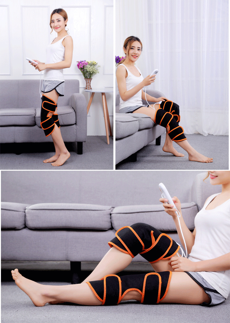 Electric Heating Knee Protector Warm Moxibustion Warm Knee Joint Massage Knee Inflammation Health Care Equipment Old Cold Leg electric knee pads keep warm electric heating moxibustion four seasons s size leg warmers