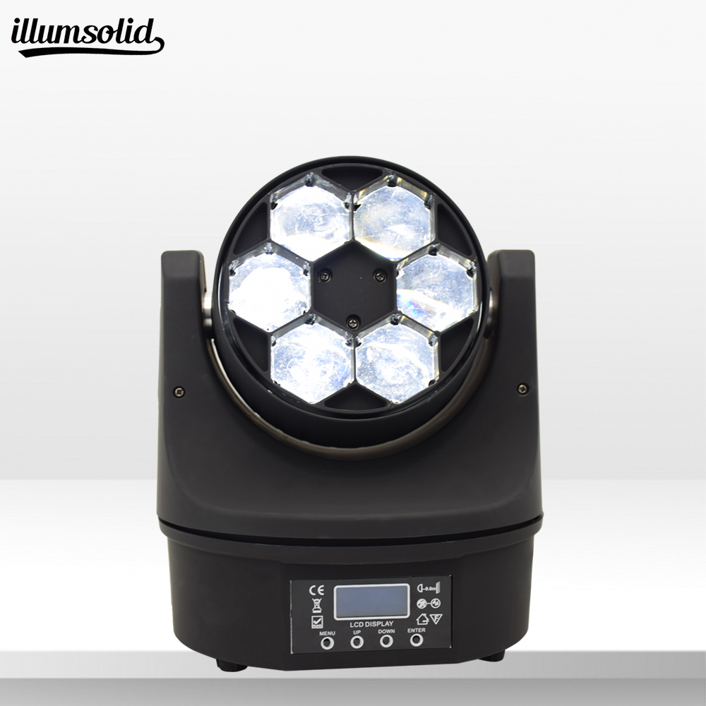 6x15w beam moving head bee eye Stage light party Disco bar moving head light6x15w beam moving head bee eye Stage light party Disco bar moving head light