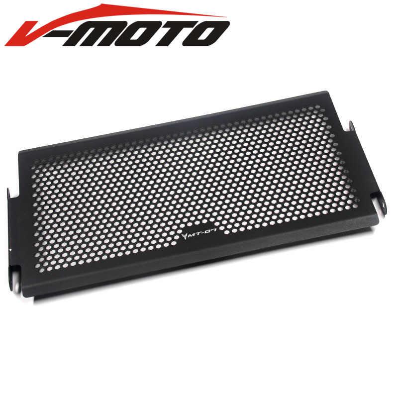 XSR700 المبرد واقية غطاء الحرس شبكة المبرد غطاء Protecter لياماها Mt07 الراسم Mt-07 FZ07 FZ-07 MT 07 2014-2018