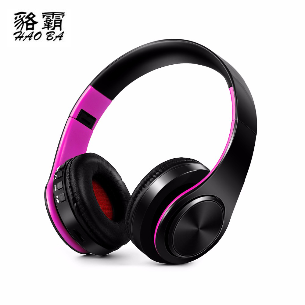 HAOBA Earphones Bluetooth headphones Stereo headset Wireless earphones BT4.0 Original Music MP3 and microphone Highquality sound kz headset storage box suitable for original headphones as gift to the customer