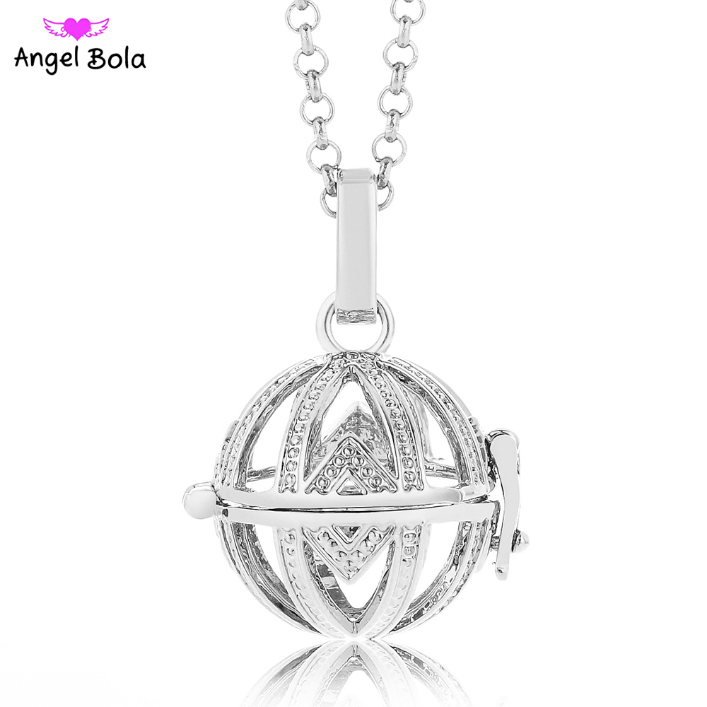 10Pcs Wholesale Engelsrufer Cage 20.5mm Perfume Box Harmony Caller Angel Baby Bola Sound Pendant for Women and Baby L085