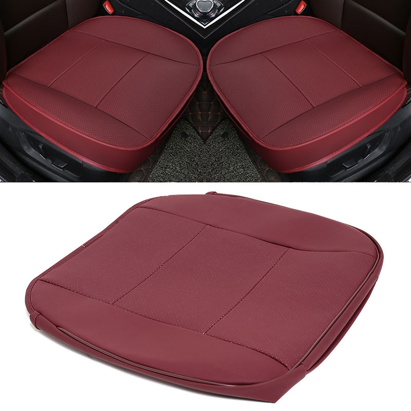 Vehemo Wear-Resistant Leather Car Seat Cushion Cover Storage Bag for Dustproof Waterproof(China)