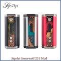 Оригинал Sigelei Snowwolf 218 Mod 10 Вт-218 Вт 0.1 0.5-3.0ohm TC Snowwolf Мод 218 Электронные Сигареты Mod
