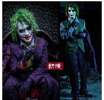 movie Arkham Origins The Dark Knight The Joker Cosplay Costume Halloween costumes full suit  coat + vest + shirt + pant + tie-in Movie u0026 TV costumes from ...  sc 1 st  AliExpress.com & movie Arkham Origins The Dark Knight The Joker Cosplay Costume ...