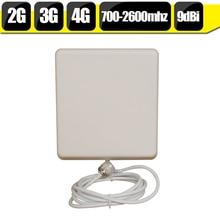 700 мГц-2700 Гц GSM 2 Г 3 Г 4 Г LTE Мобильный Телефон Антенна N Разъем Типа Крытый панель Внутренние Мобильный Телефон Антенна Для Сигнала Бустера