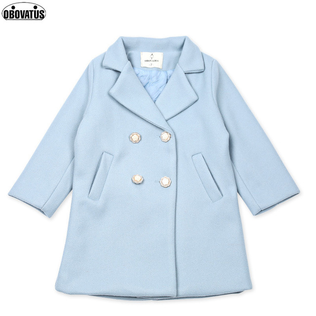 4962fba1a14f Baby girls christmas winter Wool Blends jacket coats Children hooded ...