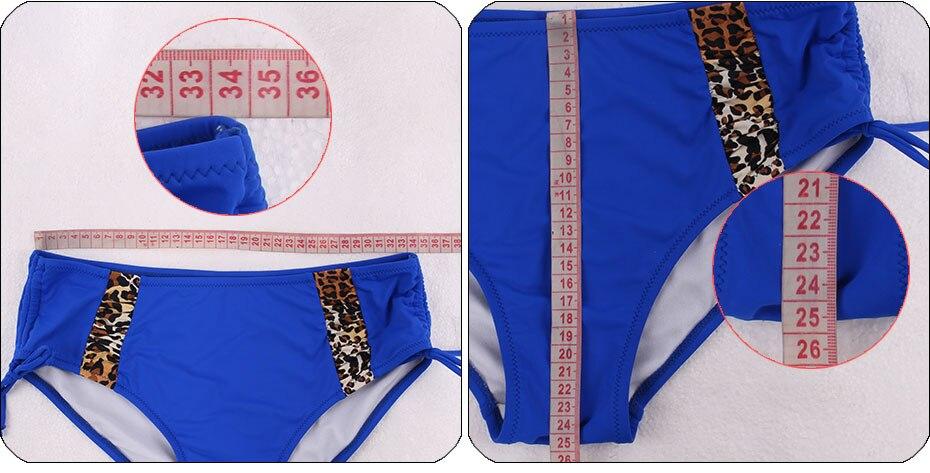 Andzhelika Bikinis Women Swimsuit Newest Sexy Leopard Patchwork Bikinis Set Plus Size Swimwear Maillot de bain Femme Biquini 12