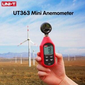 Image 5 - UNI T UT363 Handheld Anemometer Digital Wind Speed Measurement Temperature Tester LCD Display Air Flow Speed Wind Meter