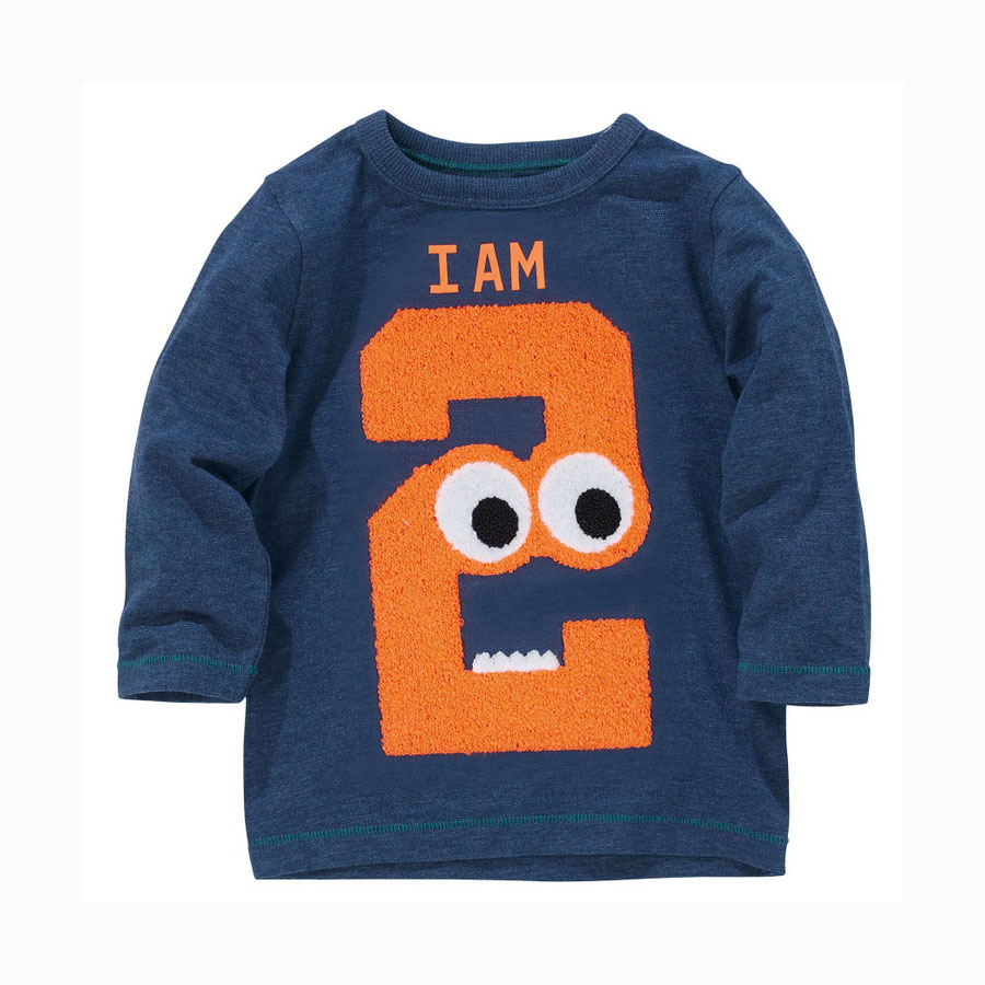Aliexpress : Buy 1 To 6 Years Kids Unisex 100% Cotton Casual Full Sleeve  Embroidery