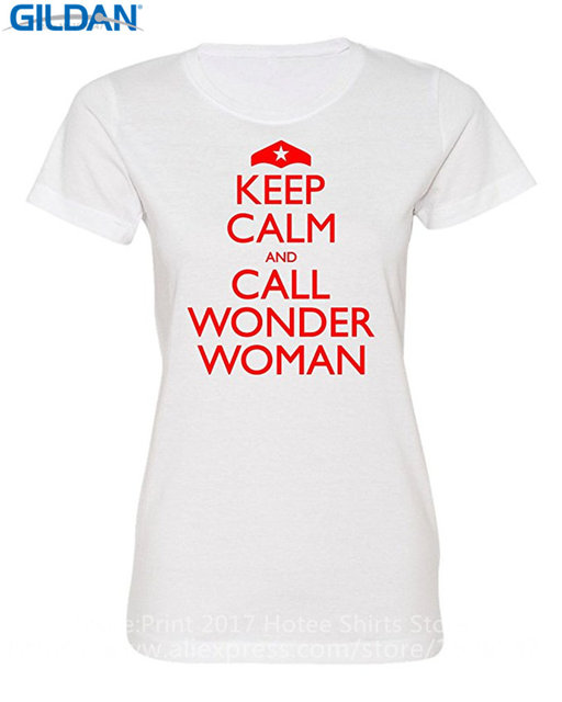 9ae330959 Design Your Own T Shirt Online Women'S Keep Calm And Call Wonder Woman  Deluxe Soft Printing