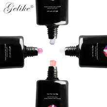 Gelike  60ml Building Poly Gel Nail Tips Finger Extension Glue Camouflage Art Pink White UV Extend Soak Off Builder