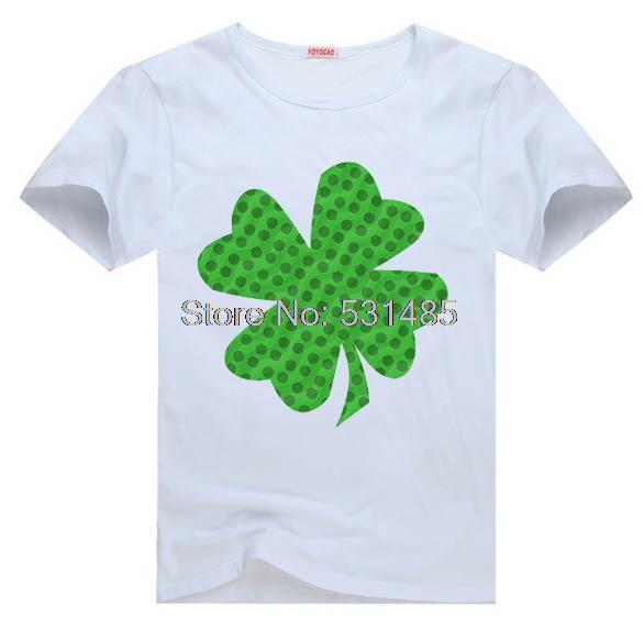 a6cc1f391 Shamrock Tee St. Patricks Day t shirt for toddler kids children boy girl  cartoon t-shirt