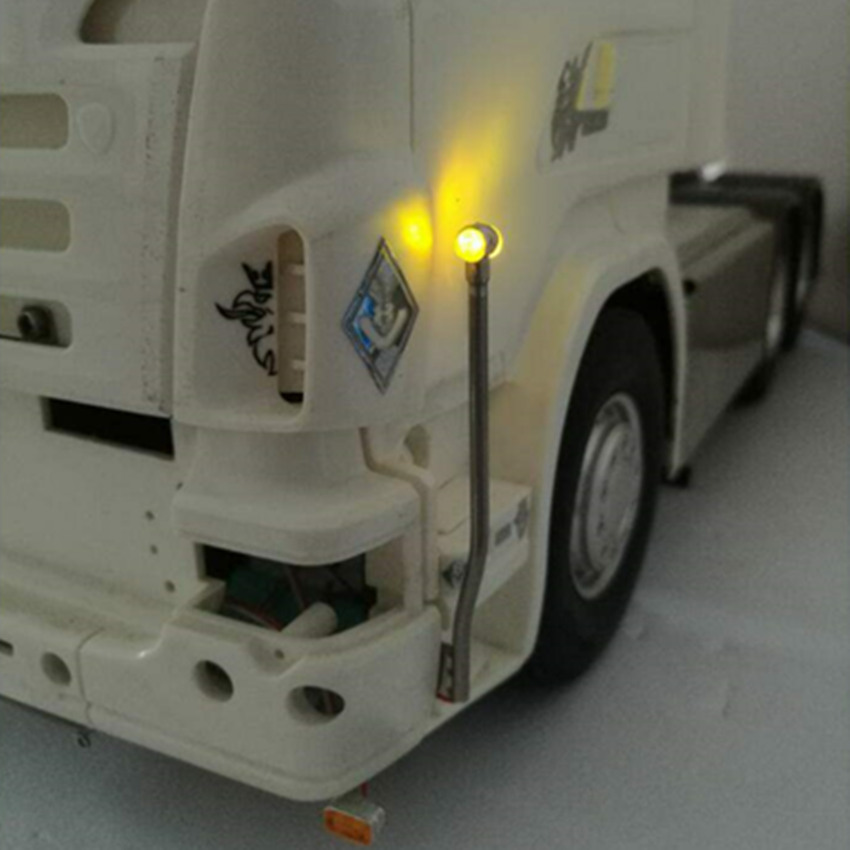 RC camion scania decorativo led pennone lampade per tamiya 1/14th scala rc scania r620 56323 r730 r470 trattore rimorchio del camionRC camion scania decorativo led pennone lampade per tamiya 1/14th scala rc scania r620 56323 r730 r470 trattore rimorchio del camion