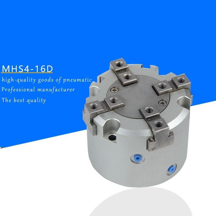 MADE IN CHINA open-air claw four-jaw circular pneumatic finger cylinder MHS4-16D MHS4-20D MHS4-25D MHS4-32D MHS4-40D